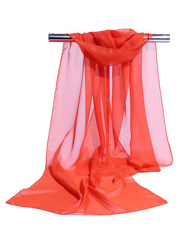 Affordable Chiffon Silky Breathable Long Scarf