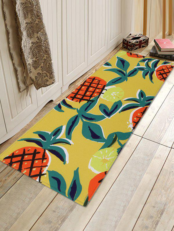 Best Pineapple Pattern Water Absorption Area Rug