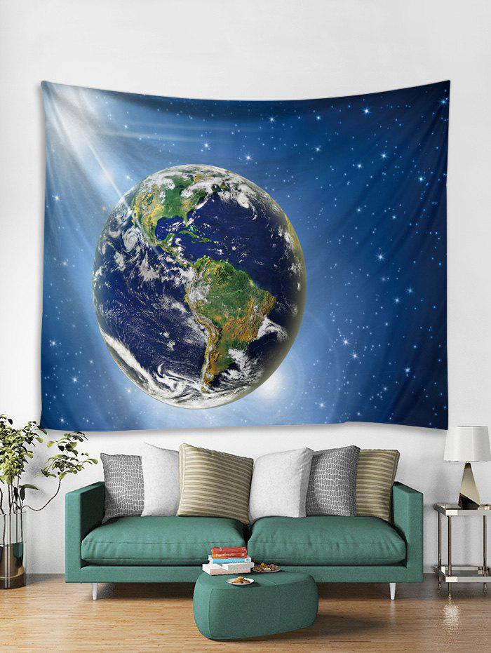Chic Universe Earth 3D Print Wall Tapestry