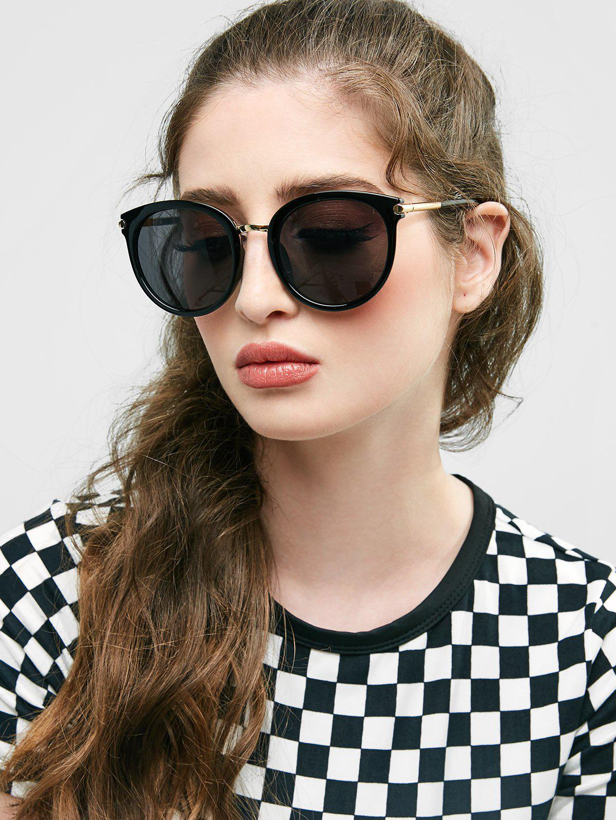 Affordable European American Round Young Style Sunglasses