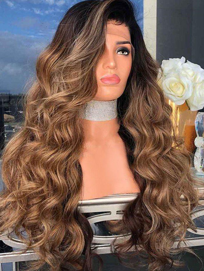 Fashion Side Part Long Body Wave Synthetic Cosplay Wig