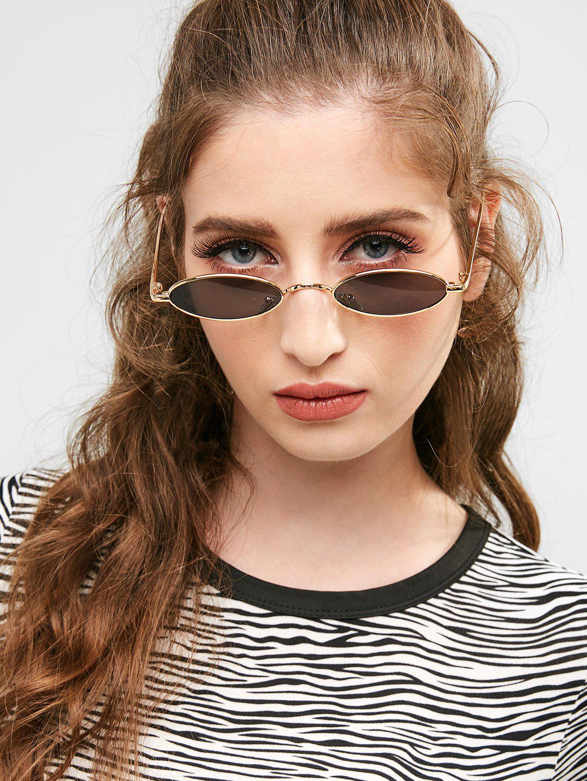 New Statement Metal Full Frame Steampunk Sunglasses