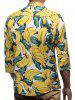 Allover Banana Print Button Shirt -