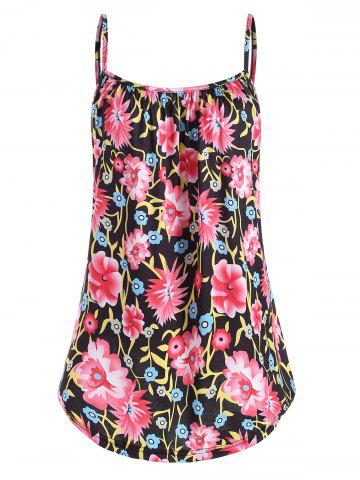 Casual Flower Print Cami Top