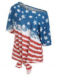 American Flag Multiway Tunic T-shirt -