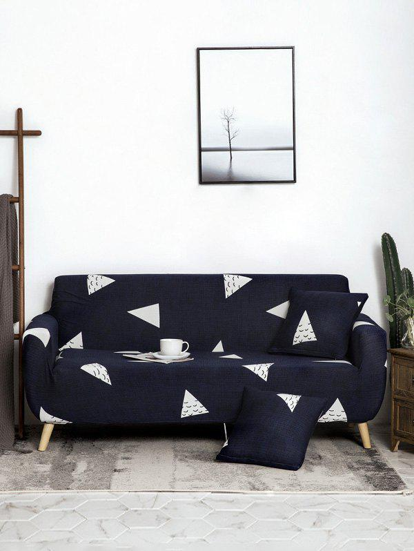 Chic Geometric Printed Couch Cover