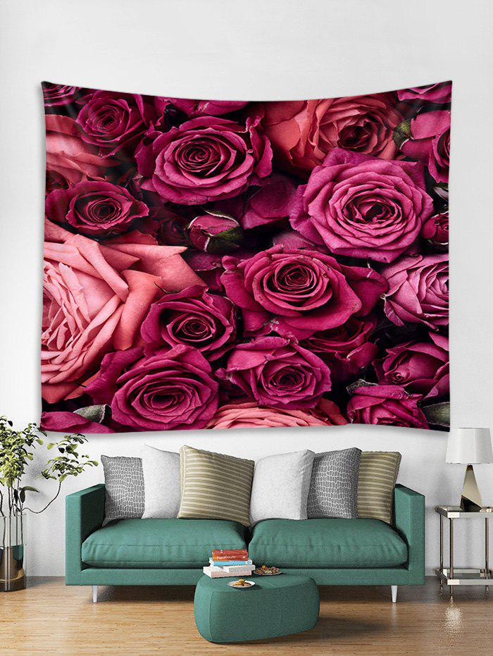 Outfit Flowers 3D Printed Wall Tapestry
