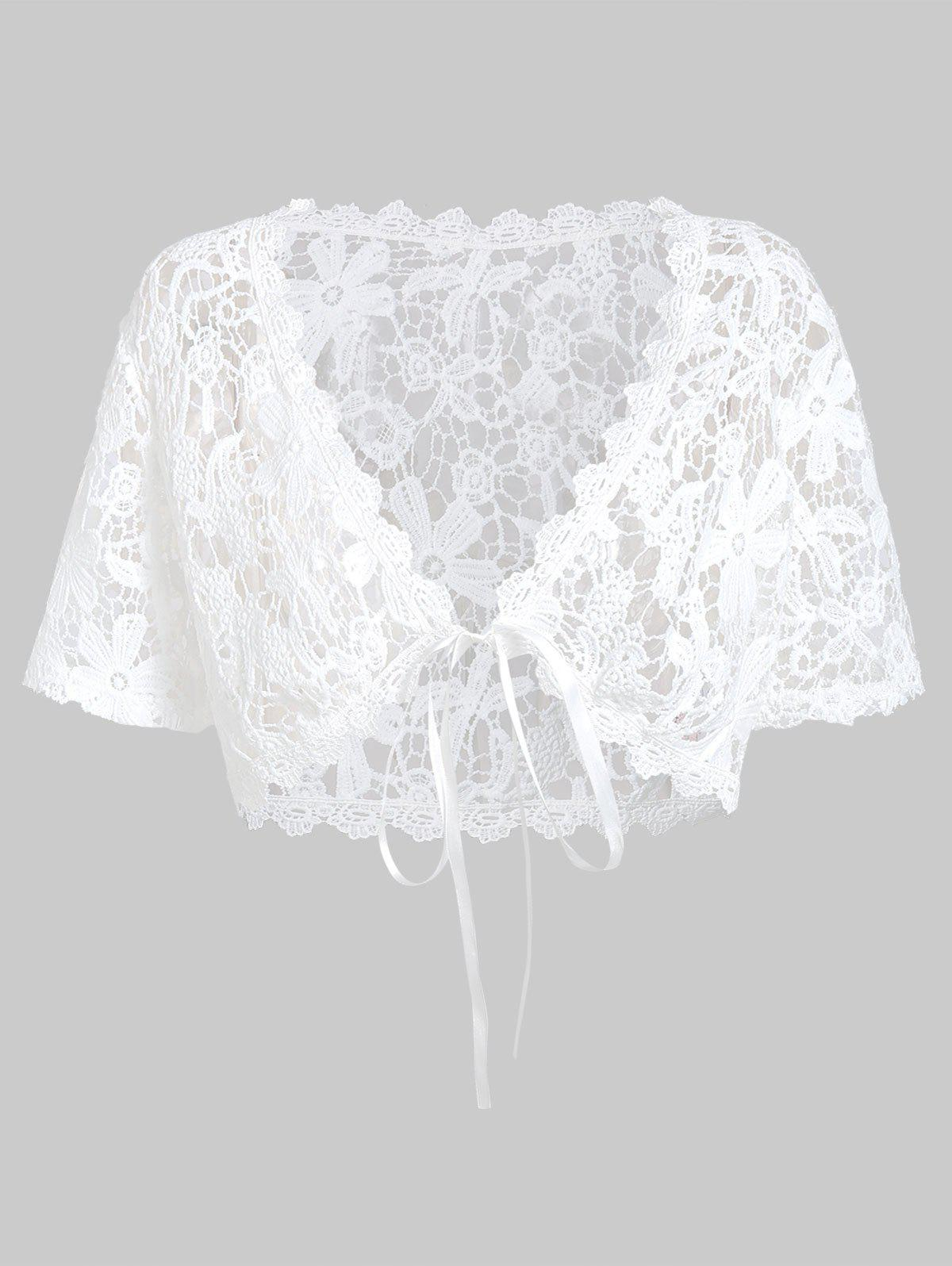 Sale Plus Size Lace Top With Handkerchief Layered Cami Top Twinset