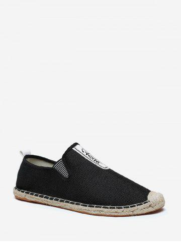 Slip On Linen Casual Shoes