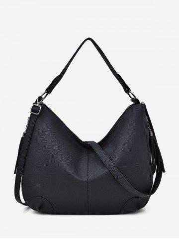 Brief Tassel Soft Shoulder Bag