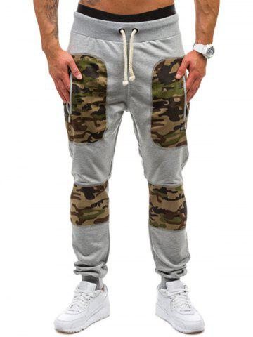 Camouflage Print Leisure Jogger Pants