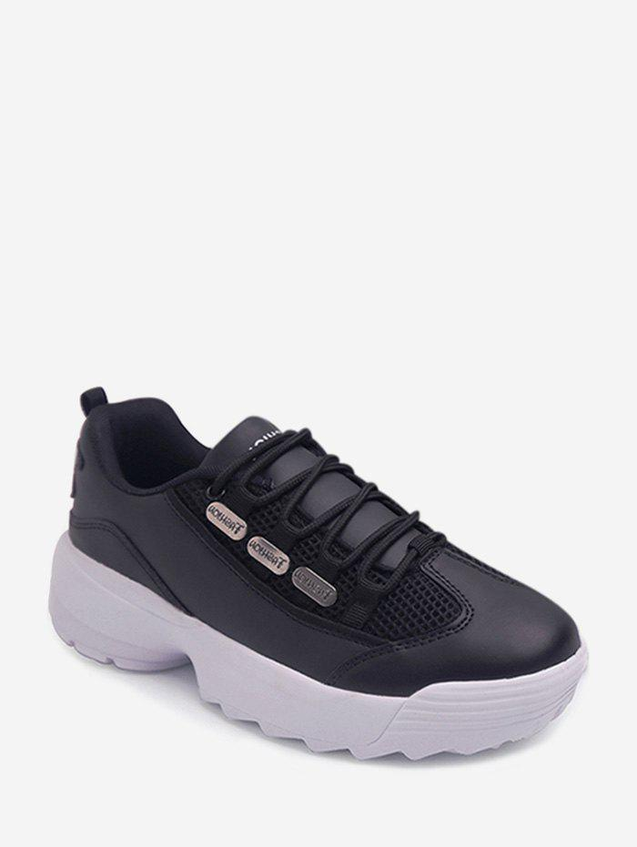 Affordable Breathable PU Leather Casual Shoes