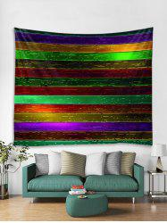 Colorful Wooden Floor Print Tapestry Wall Hanging Art Decoration -