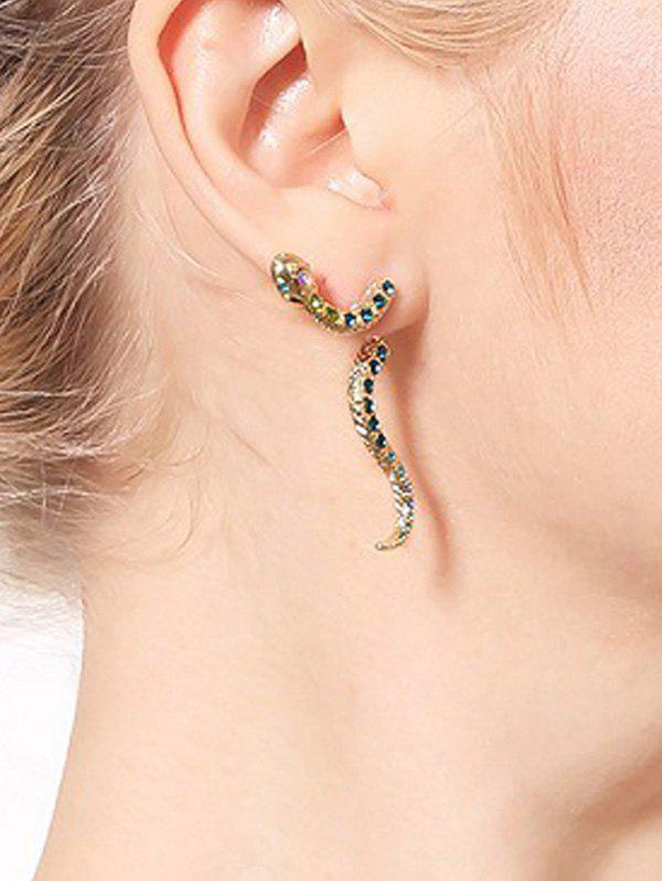 Outfits Personality Snake Stud Earrings