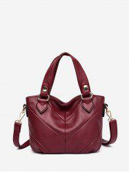 Casual Style Solid Color Tote Bag -