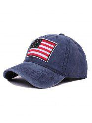 American Flag Pattern Baseball Hat -