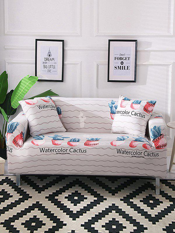Remarkable Cactus Printed Couch Cover Uwap Interior Chair Design Uwaporg