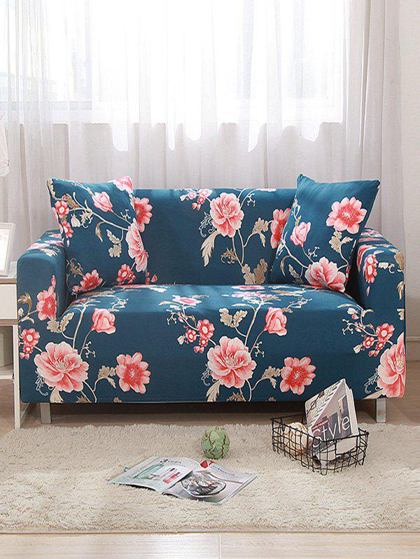 Flower Print Design Couch Cover