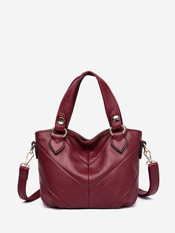 Hot Casual Style Solid Color Tote Bag