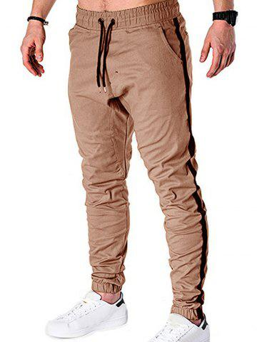 Leisure Style Drawstring Design Jogger Pants