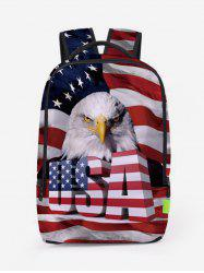 American Flag Patriotic Travel Backpack -