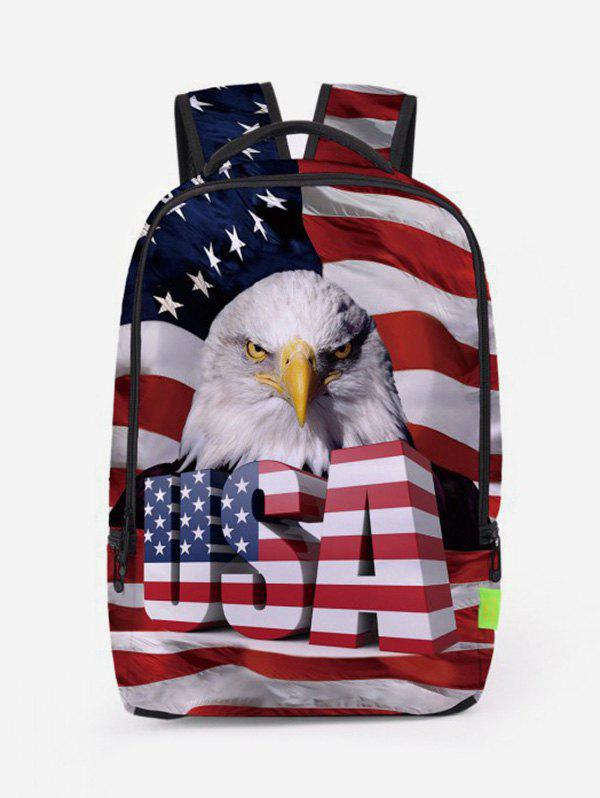 Shop American Flag Patriotic Travel Backpack