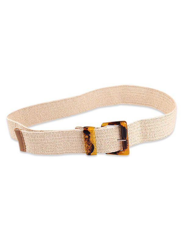 Affordable Beach Style Woven Buckle Belt