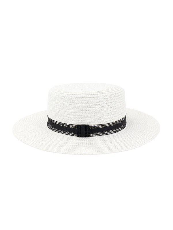 Buy Straw Woven Vintage Style Jazz Hat