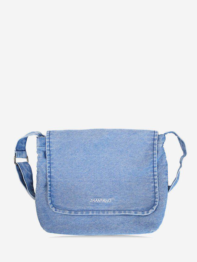 Store Casual Denim Crossbody Bag