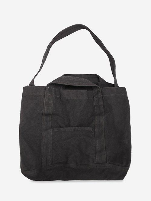 Store Solid Large Capacity Canvas Shoulder Bag