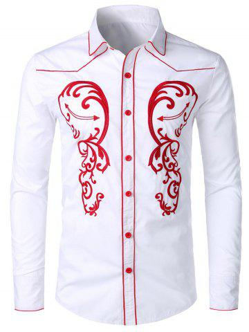 016011d7 White Designer Shirt - Free Shipping, Discount And Cheap Sale | Rosegal