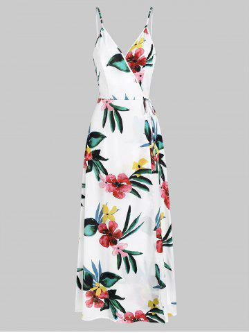 Cami Floral Print Split Maxi Dress