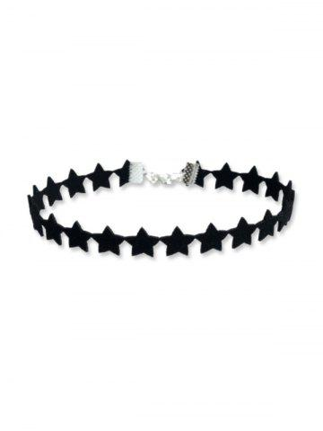 Star Design Choker Necklace