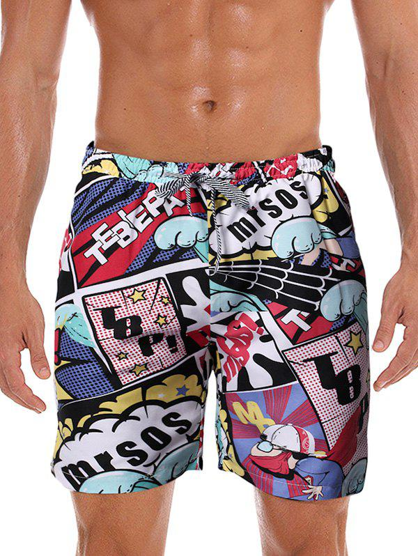 Hot Graphic Printed Leisure Board Shorts
