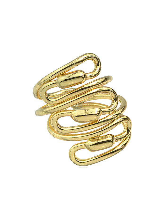Store Personality Spiral Wide Ring