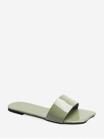 Solid Color Flat Personality Slides