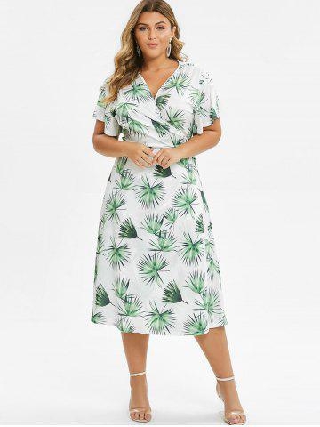 c5f3964d1d548 Tropical Print Dress - Free Shipping, Discount And Cheap Sale | Rosegal