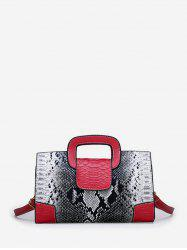 Snakeskin Pattern Design Tote Bag -