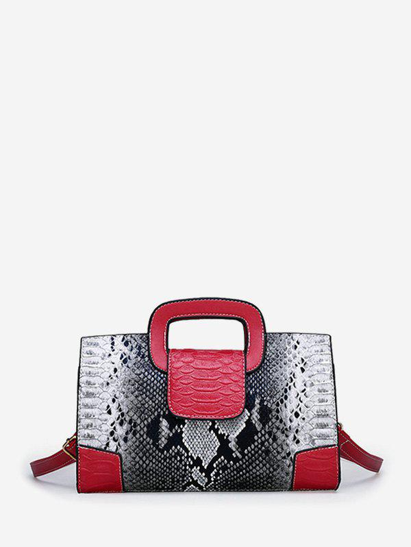 Fancy Snakeskin Pattern Design Tote Bag
