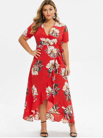b4520d06e2 Plus Size Wrap Dresses - Free Shipping, Discount And Cheap Sale ...