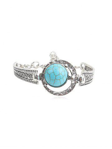 Bohemia Turquoise Hollowed Out Bracelet