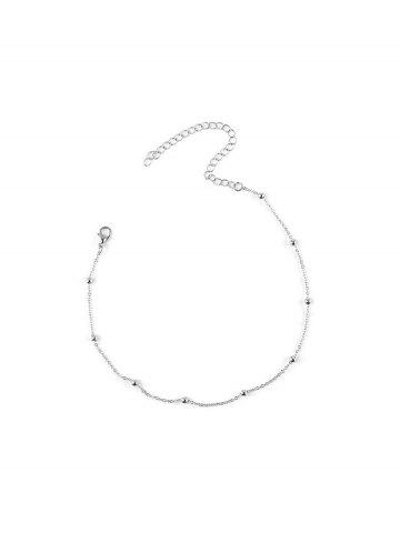 Simple Beads Chain Collarbone Necklace