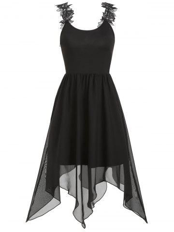 Cami Asymmetrical Solid Dress