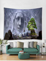 3D Engraved Decor Wall Tapestry -