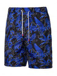 Plant Printed Leisure Board Shorts -