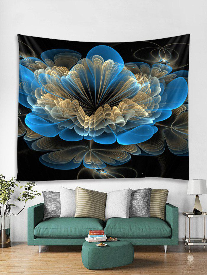 Fancy 3D Floral Decor Wall Tapestry