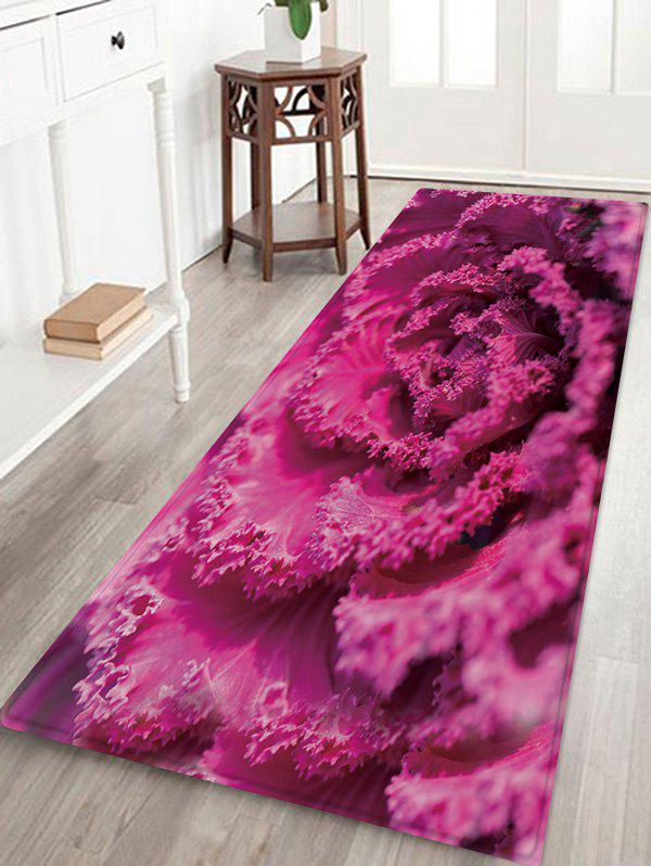 New 3D Flower Print Design Floor Mat