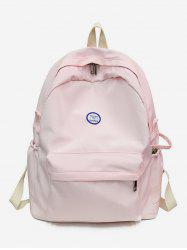 Canvas Solid Travel Backpack -