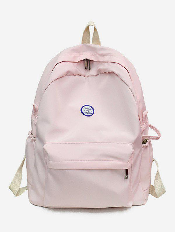 Store Canvas Solid Travel Backpack