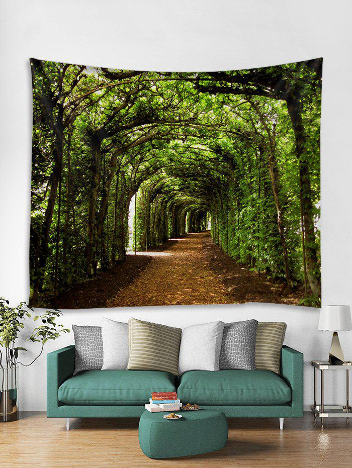 New 3D Forest Tunnel Pattern Tapestry